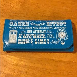 Dr. Who wallet